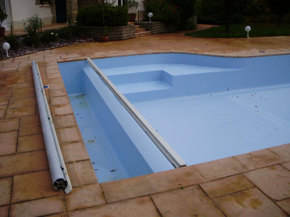 Le liner arm 150 pose de liner piscine cr ation et for Renovation liner piscine
