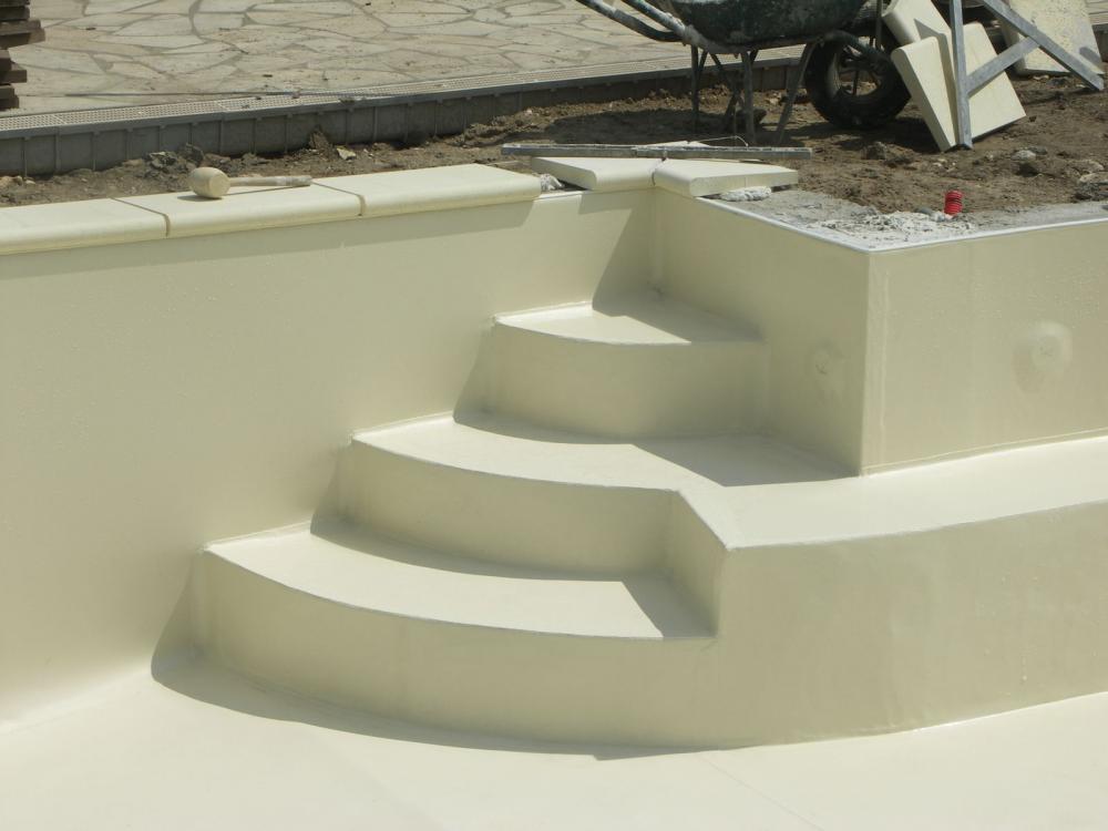 Pose de liner armé 150/100 pour piscines, étanchéité et ... - Pose Liner